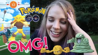 THE BIGGEST CHALLENGE OF MY LIFE! + Shiny Geodude and Grimer in Pokemon GO!