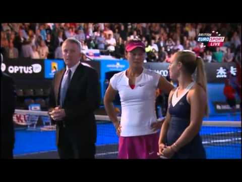 Li Na Vs Dominika Cibulkova Australian Open 2014 Women's Final Part 2