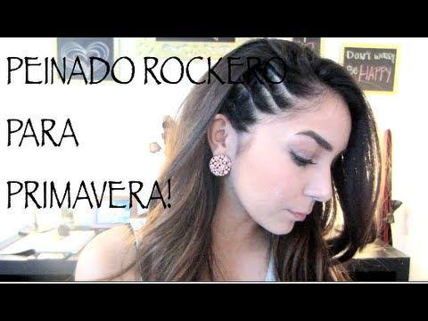 PEINADO ROCKERO PERFECTO PARA PRIMAVERA!!!