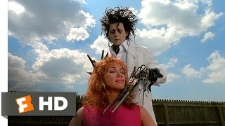 Video clip Edward Scissorhands (2/5) Movie CLIP - A Thrilling Experience (1990) HD