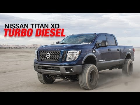 OUR NEW SHOP TRUCK!!! (Lifted 2017 Nissan Titan XD - Desert Trip)