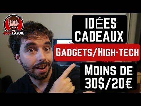 5 Idées Cadeaux Gadgets / High-Tech à moins de 30$ (20€) - 2017