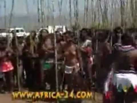 Real Zulu Virgins Reed Dance(2012).flv video