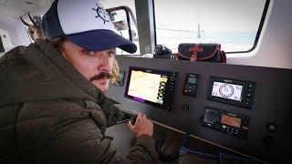Gybing out the Gibraltar Strait (Sailing La Vagabonde) Ep. 132