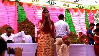 স্কুলের অনুষ্ঠানে স্কুল বালিকার কণ্ঠে । আমি চাইলাম যারে | Ami Chailam Jare Vobe Pailam na Tare