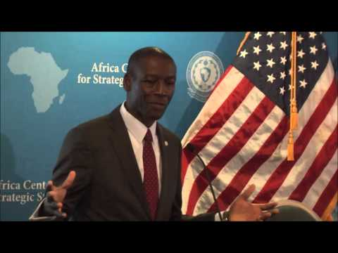 Dr. Raymond Gilpin - Opening Remarks, Next Generation of African Security Leaders Program, 2015