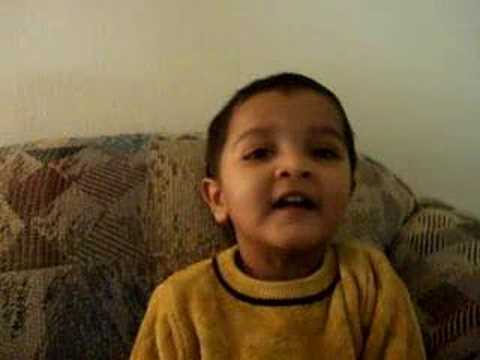 Shanu Singing Aloo Kachaloo video
