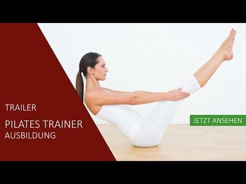 Pilates Trainer Ausbildung | Trailer | Akademie für Sport und Gesundheit