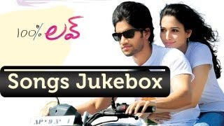 100% Love - 100% Love (100% లవ్) Telugu Movie Full Songs Jukebox || Naga Chaitanya, Tamanna