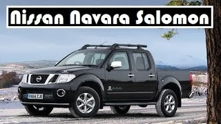 Nissan Navara Salomon mountain sports brand, a limited edition model