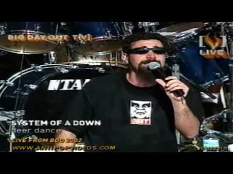System Of A Down - Deer Dance Live (hd dvd Quality) video
