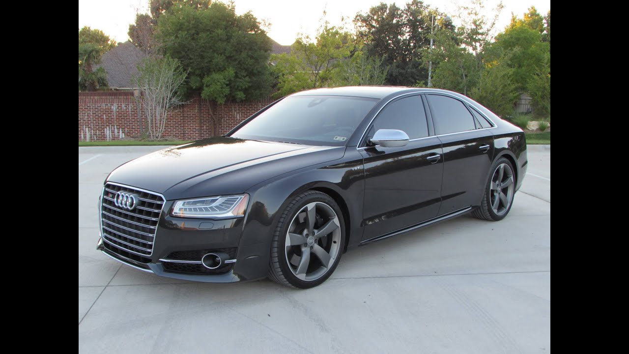 2015 Audi S8 4 0t Quattro Start Up Quick Drive And In
