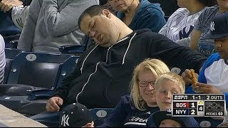 Cash In!!! For Sleeping At A Baseball Game