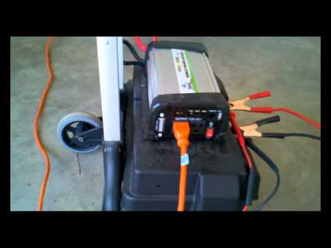 DIY Lawnmower Generator Update - Load Testing