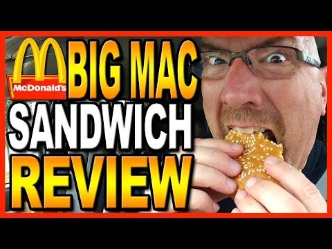 McDonald's Big Mac Combo Review + Drive Thru test