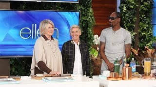 Download Song Martha Stewart and Snoop Dogg Share a Taste of Their New Show! Free StafaMp3