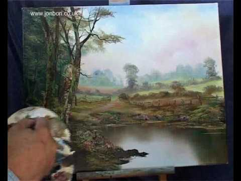 Oil painting lessons classes lesson 11 by john redfern for Oil painting instructions for beginners