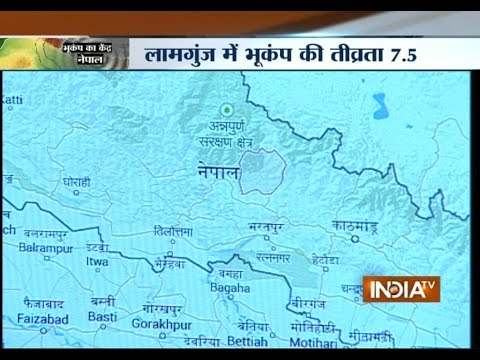 Know more about the epicentre of the Earthquake that jolted North India