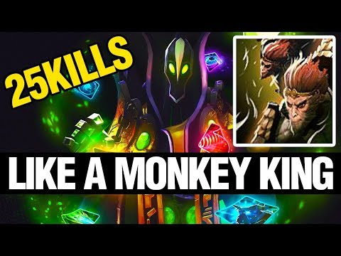 LIKE A MONKEY KING - Ana Plays Rubick - Dota 2