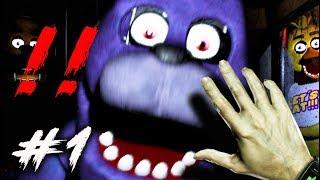 Five Nights at Freddy's #1: CHƠI THỬ GAME KINH DỊ NỔI TIẾNG THẾ GIỚI !!! Vừa sợ vừa hài =)))