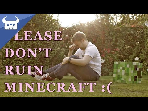 PLEASE DON'T RUIN MINECRAFT! | Dan Bull's letter to Microsoft