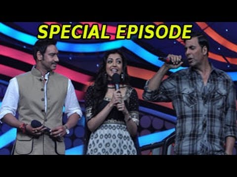 NACH BALIYE 5 - Akshay Kumar & Ajay Devgan in NACH BALIYE 5 SPECIAL EPISODE 9th February 2013