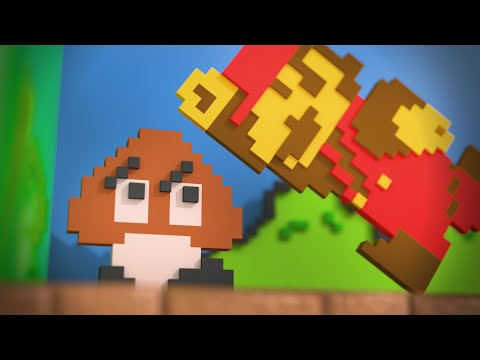 Thumbnail of video Super Modern Mario Bros. (E3 2012 gameplay)