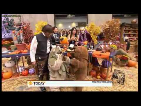 "Al Roker Humped By DRUNKEN EWOK On ""Star Wars"" Today Show NBC Halloween Special LIVE!"