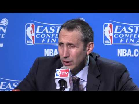 What David Blatt said after the Cavaliers win over the Hawks in Game 3