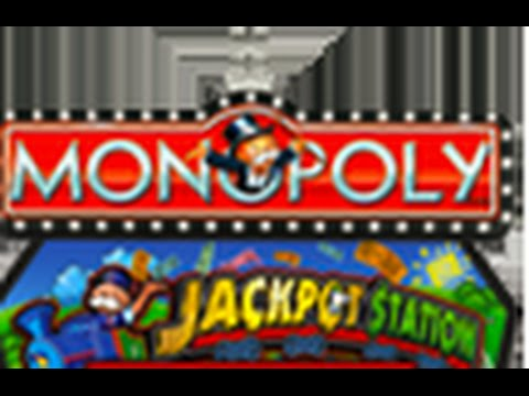 Monopoly Jackpot Station Slot Machine Bonuses video