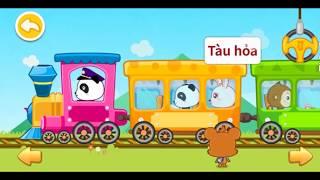 Phim hoạt hình cho bé - babybus - panda kiki nhận biết các phương tiện