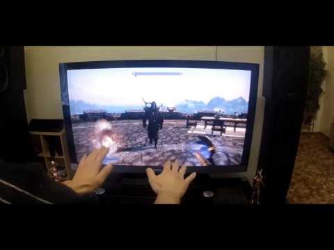 Leap Motion PC Games - SKYRIM
