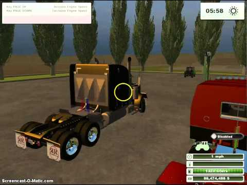 BIG trucks and a gator (farming simulator 2013 mod review)
