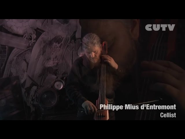 CUTV'S STUDIO SESSIONS WITH PHILIPPE MIUS D'ENTREMONT