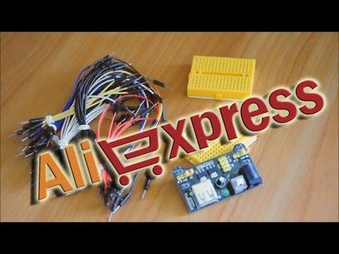 Макетная плата с AliExpress. Сборка схемы (одной кнопки) на таймере NE555