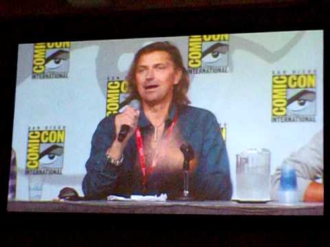 Robin Atkin Downes voices and experiences as a voice actor, SDCC 2011