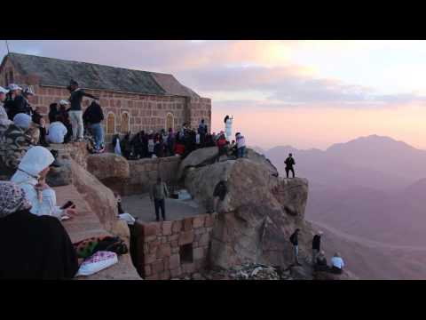 Mount Sinai. Egypt. 04/2014