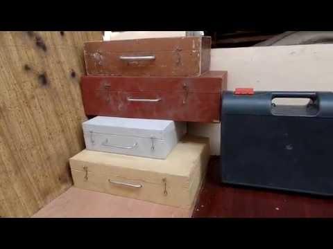 Удобные ящики для инструмента из фанеры и двп своими руками
