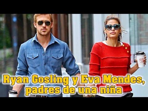 Ryan Gosling y Eva Mendes, padres de una niña
