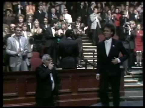 Cliff Richard wins Lifetime Achievement presented by Peter Jamieson | BRIT Awards 1989