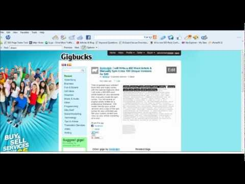 0 Writing an Article?  Hire a Cheap Article Writing Service with Article Spinning!