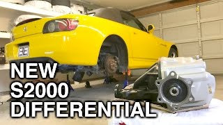 Installing A New Differential In My Honda S2000!