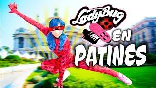 MIRACULOUS LADYBUG EN PATINES 2 - EL MUSICAL | Palomitas Flow !!!
