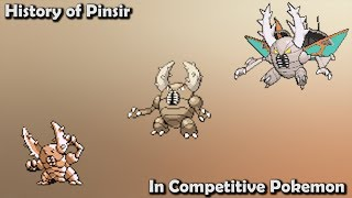 How GOOD was Pinsir ACTUALLY? - History of Pinsir in Competitive Pokemon (Gens 1-7)
