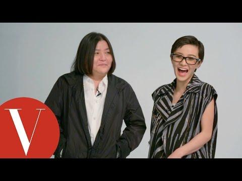 邱瓈寬與郭采潔交換身份真心話大冒險