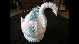 Origami 3d Swan