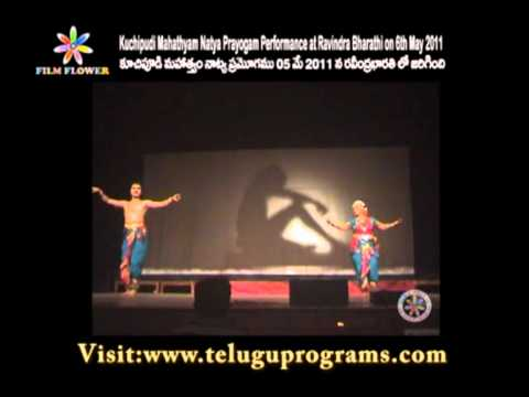 Kuchipudi Mahathyam Natya Prayogam Dance Performance Video 2 at Ravindra Bharathi
