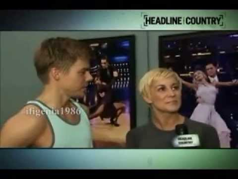 Kellie Pickler & Derek Hough - Rehearsals and interviews of Week 5 (Foxtrot) - Extended