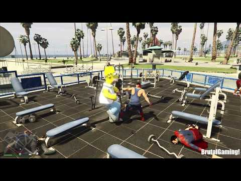 GTA 5 Fail Compilation (GTA V Franklin Funny Moments Thug life)