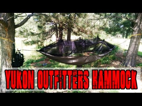 Yukon Outfitters Hammock With DIY Paracord Straps